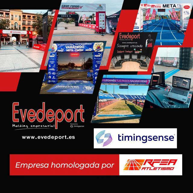 Evedeport, primera empresa de CLM homologada por la Real Federación Española de Atletismo