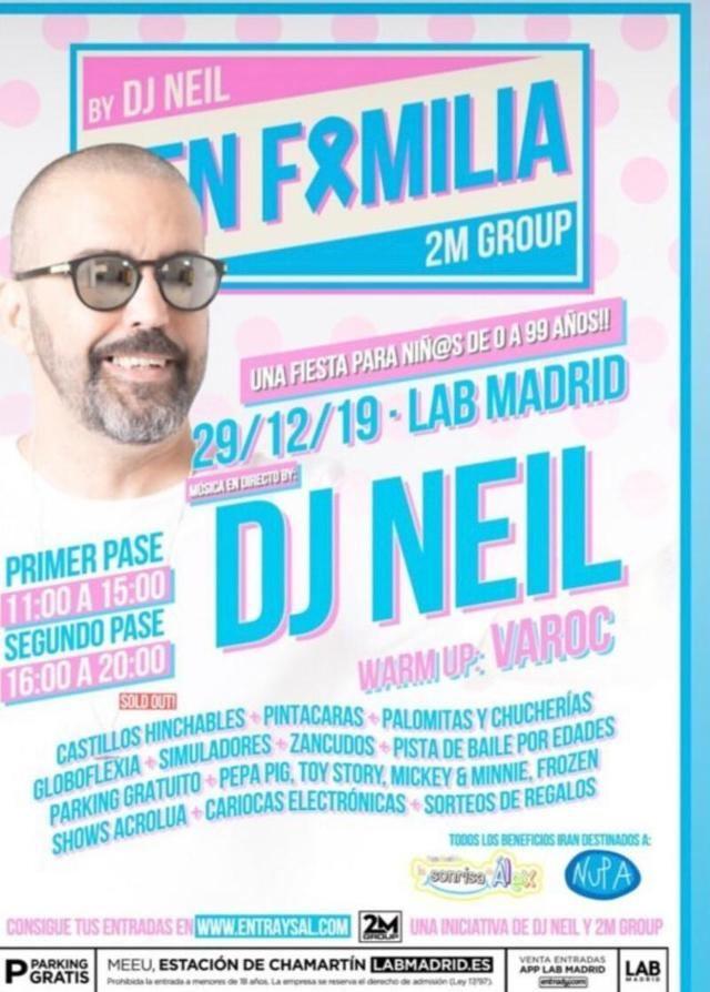 El veleño Varoc participará en la fiesta solidaria '#EnFamilia'