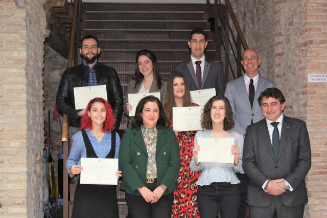 Fundación Eurocaja Rural y UCLM entregan los premios a los mejores Trabajos Fin de Grado