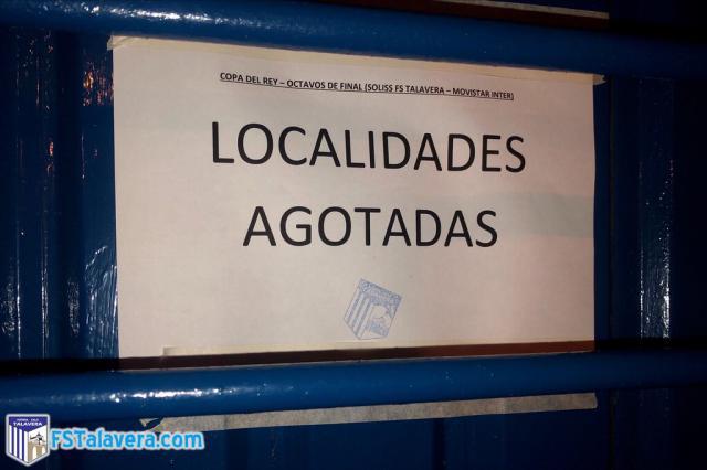 Respuesta abrumadora de los aficionados para apoyar al Soliss FS Talavera