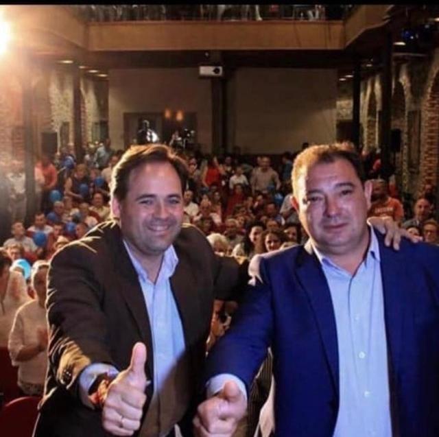 Manuel Fernández, alcalde de Gálvez, nuevo presidente del Grupo Popular de la Diputación