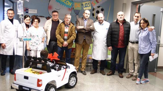 Gracias a la donación de los taxistas de Ciudad Real.