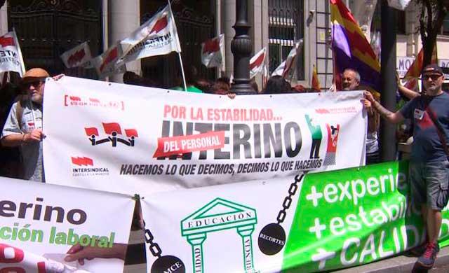 Profesores de toda España denuncian el aumento