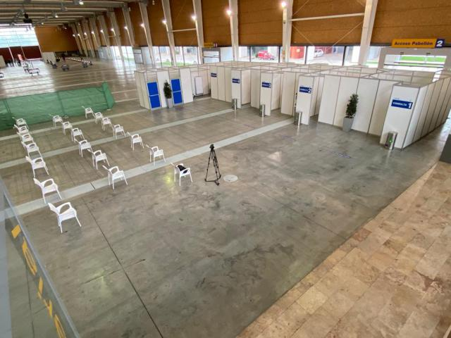 VÍDEO | Así son las instalaciones de Talavera Ferial para luchar contra el Covid-19