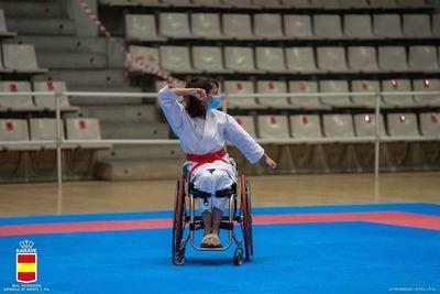PARAKARATE | La toledana Isabel Fernández, campeona del España