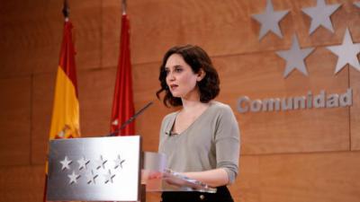 ÚLTIMA HORA | La presidenta de la Comunidad de Madrid da positivo por coronavirus (VÍDEO)