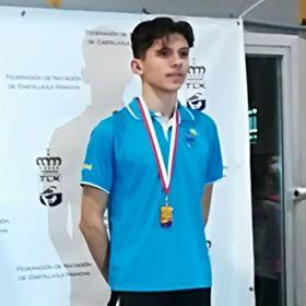 Iván Élez se cuelga el bronce en el Campeonato Regional de Natación