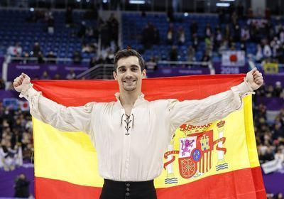 """""""Nuestro"""" hombre de la Mancha consigue el bronce olímpico en patinaje artístico"""