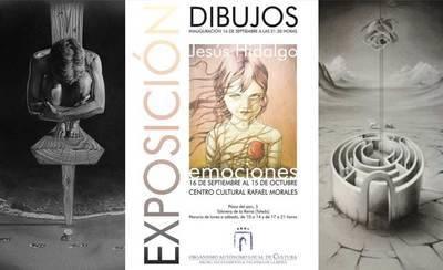 """""""EMOCIONES"""" de Jesús Hidalgo: La narrativa del sueño, por César Pacheco."""