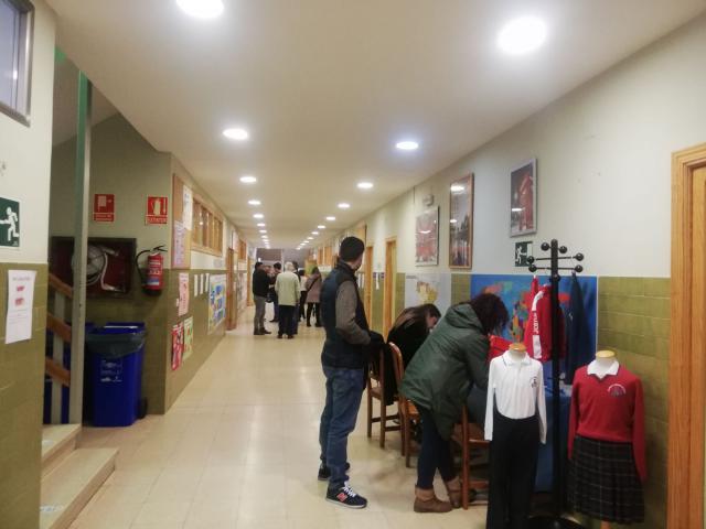 Éxito de participación en la jornada de puertas abiertas del colegio Clemente Palencia