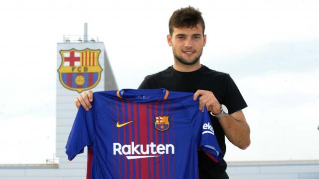 El talaverano José Arnáiz ficha por el F.C. Barcelona 'B'