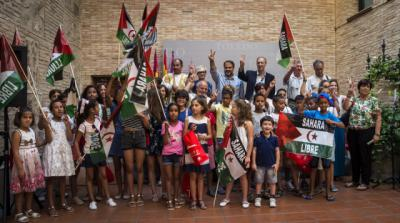 25 niños saharauis buscan hogar para disfrutar de unas 'Vacaciones en Paz'