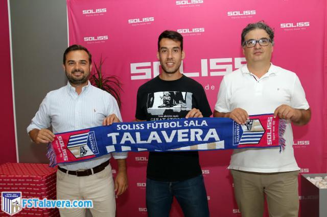 El Soliss FS Talavera se refuerza con la llegada del madrileño Sergio