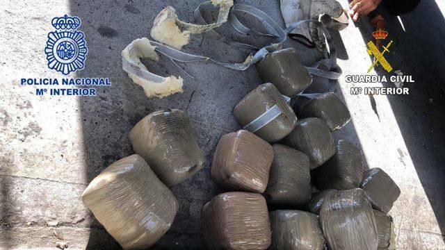 Desarticulada una organización dedica al tráfico internacional de hachís que operaba en Albacete