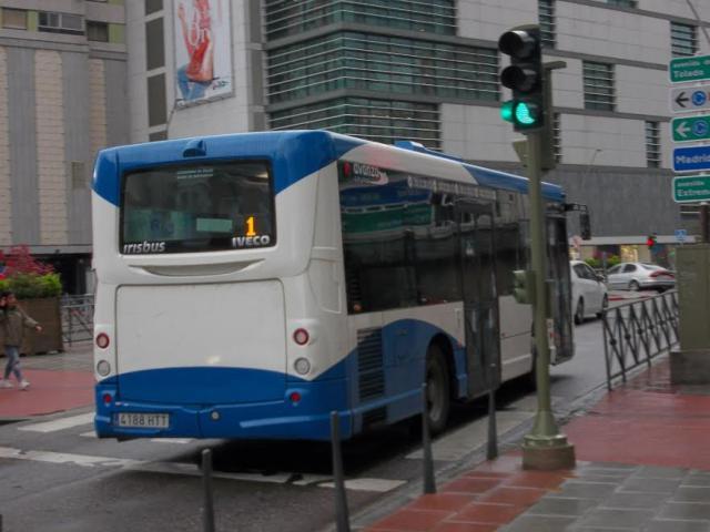 Autobús urbano de Talaveer de la empresa Eborabus