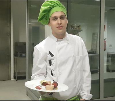 """Un alumno de cocina del IES San Isidro, finalista en el premio """"Promesas de la alta cocina"""""""