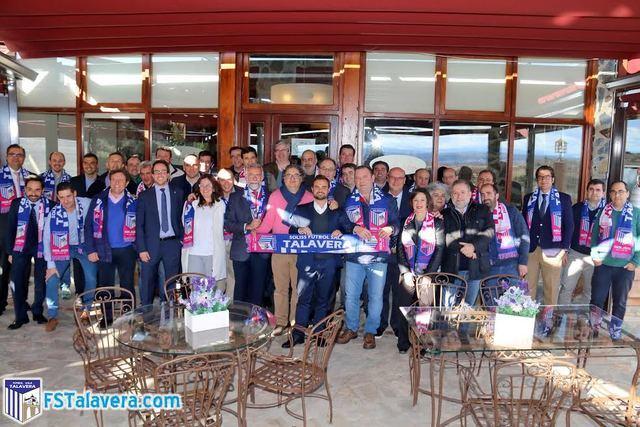 El Soliss FS Talavera compartió una comida de confraternización con sus patrocinadores