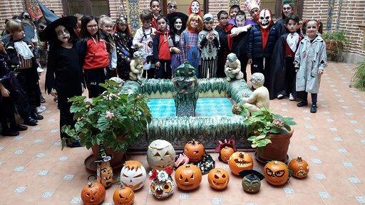 Halloween en el colegio juan Ramon Jiménez de Talavera