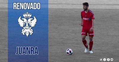 Juanra seguirá una temporada más en el CF Talavera