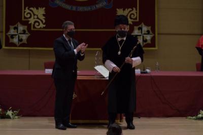 Julián Garde toma posesión como nuevo rector magnífico de la Universidad de Castilla-La Mancha / Europa Press / Eusebio García del Castillo