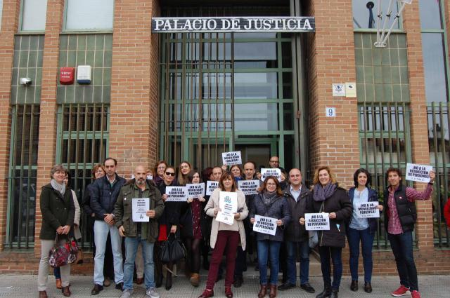 Los funcionarios de Justicia, contra la reforma judicial