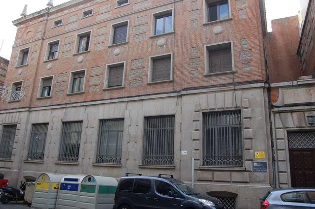 El antiguo Banco de España en la calle Carnicerías de Talavera de la Reina