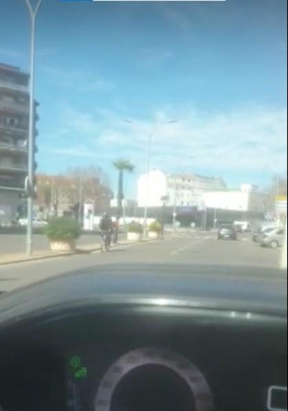 VÍDEO | Un kamikaze anda suelto por Talavera