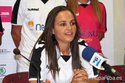 La talaverana Miriam Rodríguez 'Kuki', jugadora del Fundación Albacete
