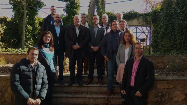 Reunión con alcaldes de municipios incluidos en el Parque Natural.