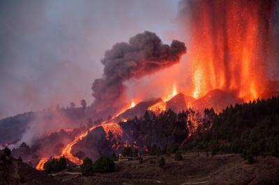 El volcán de La Palma ha obligado a una evacuación masiva