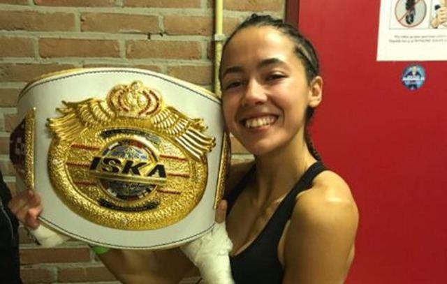 Lara Fernández, de Cebolla, se proclama campeona del mundo de Muay Thai