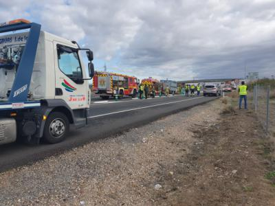 Accidente mortal en la A-5 cerca de Talavera