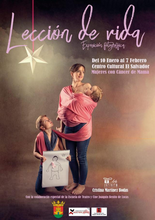 'Lección de vida', la exposición de Cristina Martínez sobre el cáncer de mama y la esperanza