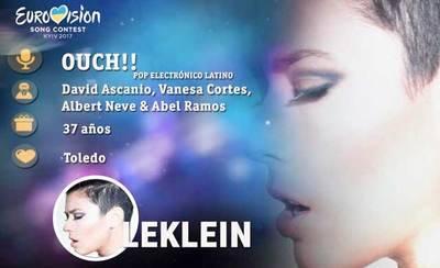 La talaverana Leklein, con su canción Ouch!!, más cerca de Eurovisión