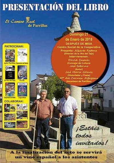 """El domingo se presenta el libro """"El Camino Real de Parrillas"""""""