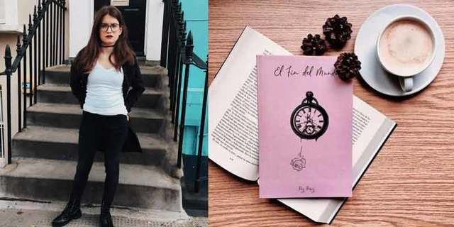 La talaverana Paz Pérez viaja al 'fin del mundo' en su primer poemario