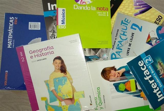 El viernes se abre el plazo para solicitar las ayudas para libros de texto