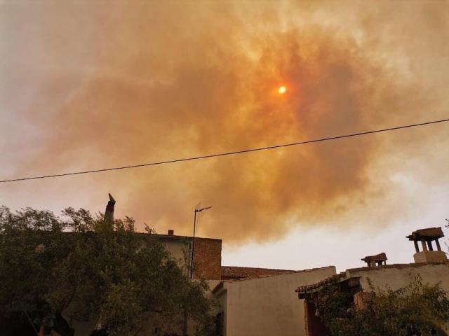 Declarados dos incendios forestales en Liétor y Tobarra, en Albacete