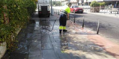 La limpieza intensiva en barrios de la ciudad continuará en otoño e invierno