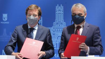 Los alcaldes de Madrid y Badajoz piden que se priorice el tren Madrid-Lisboa