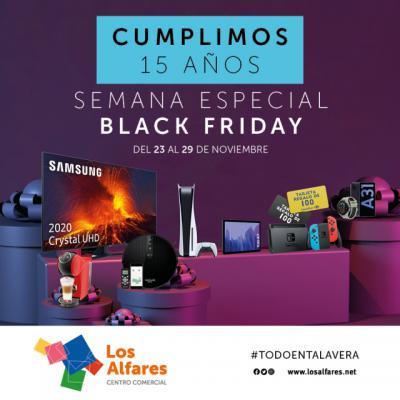 BLACK FRIDAY   Gran sorteo especial en Los Alfares Talavera: vales regalo, tablets, videoconsolas...