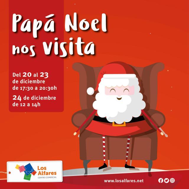 ¿Has escrito ya tu carta? Papa Noel visita Los Alfares