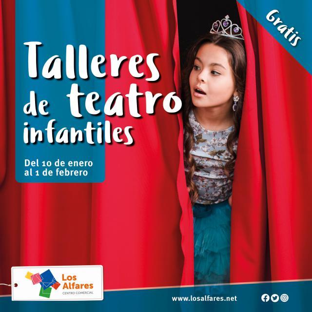 Los mejores talleres de teatro te esperan en Los Alfares