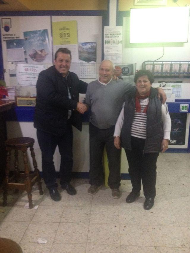 La administración de loterías de Segurilla reparte un premio de EuroMillones