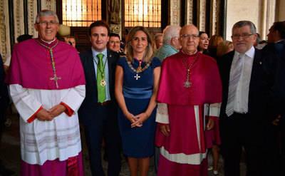 La Diputación de Toledo, con la Virgen del Sagrario
