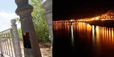 Repuesta la iluminación de la ribera de Tajo propuesta por C's