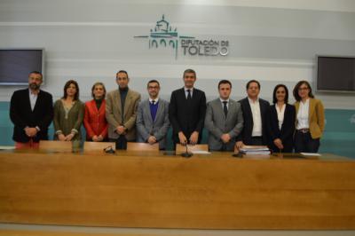 El presupuesto de la Diputación de Toledo para en 2018 asciende a 122 millones de euros