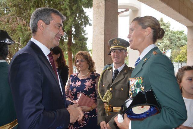 Diputación de Toledo asiste a los actos de la patrona de la Guardia Civil, la Virgen del Pilar