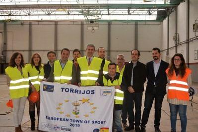 Torrijos repara el pabellón polideportivo para acoger los campeonatos deportivos como Villa Europea del Deporte