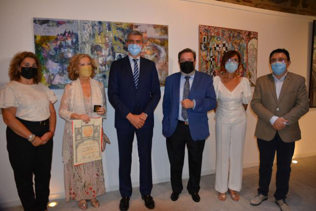 """Inauguración de la muestra de pintura y escultura """"Alfonso, sabio de corazón"""""""